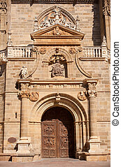 The Cathedral of Astorga - Portal of the Cathedral of...