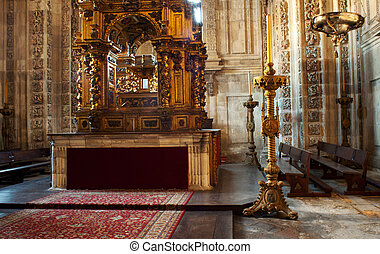 Altar of the Oviedo's cathedral