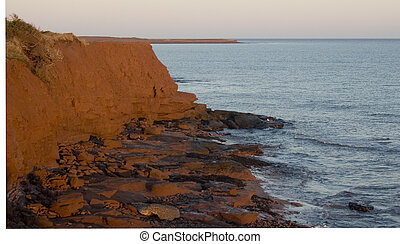 Shores of PEI - Red shores of Prince Edward Island Canada