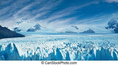 Perito Moreno glacier, Argentina. - Perito Moreno glacier,...