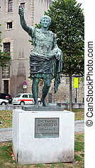 Monument of Ottavio Augustus - Monument of Roman Emperor...