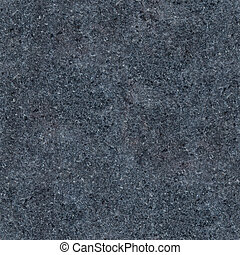 Seamless dark grey granite texture Close-up photo