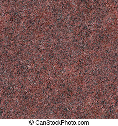 Seamless red granite texture Close-up photo