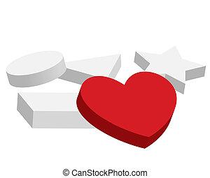 Heart. Figures