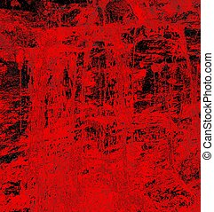 blood abstract sets a dark and scary mood