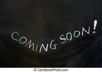 Coming soon - Conceptional chalk drawing - Coming soon