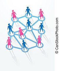 social and networking concepts