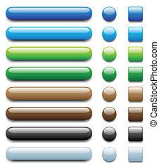 web buttons - set 1