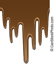 seamless melted chocolate backgrounds
