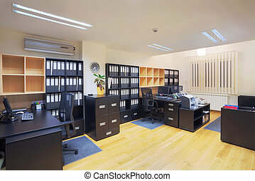Office interior - Interior of an office, modern design,...