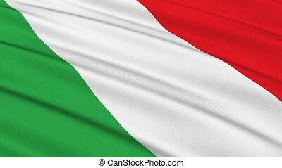 Flag of Italy seamless - Seamless loop of the Italian flag...