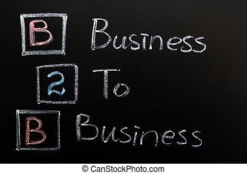 Acronym of B2B - Business to Business - Acronym of B2B...