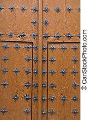 Old spanish door