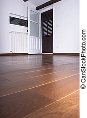 room with hardwood floors - Room with hardwood floors