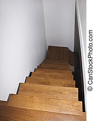 Parquet stairs