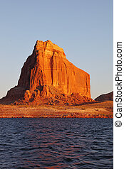 The shores of Lake Powell