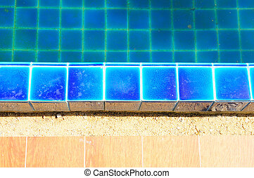 swimming pool with blue mosaic tiles,JPG