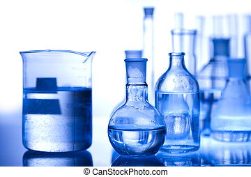 Chemical laboratory glassware equip - A laboratory is a...
