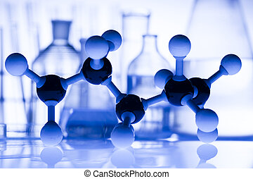 Equipment of a research laboratory - A laboratory is a place...