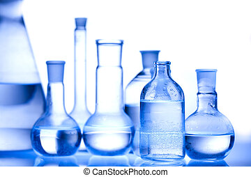 Glass in laboratory - A laboratory is a place where...
