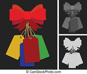 Price labels and bow