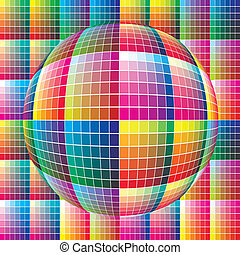 World of colors - Spherical color guide to match colors for...
