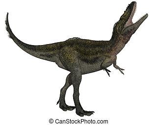 Alioramus - 3D Dinosaur - 3d render of a Alioramus - 3D...