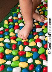 Orthopedic rug for children