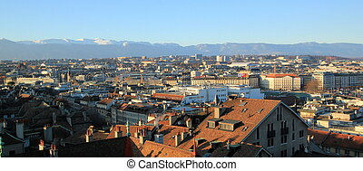 Geneva city, Switzerland