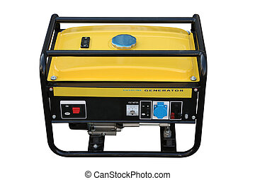 Petrol generator - The portable petrol generator of a...