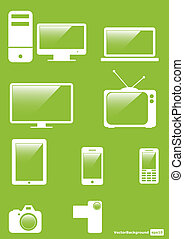 Icons Set for Web Applications, Internet & Website icons....
