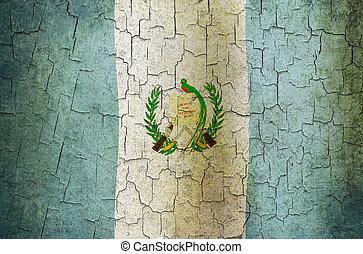 Grunge, guatemala, bandera