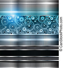 Abstract background - Abstract technology background blue...