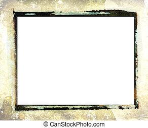 Polaroid transfer photo border