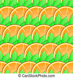 Background with citrus-fruit of orange slices - Abstract...