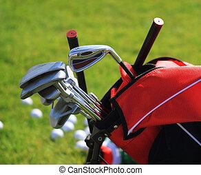 clubs,  golf,  golfbag