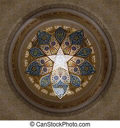 Interior of Sheikh Zayed Mosque