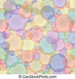 Abstract vector seamless texture in pastel tones - colored...