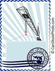 Porto, bouwsector,  cra, postzegel