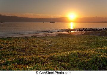 Sunrise at Half Moon Bay - Calm sunrise at Pillar Point...
