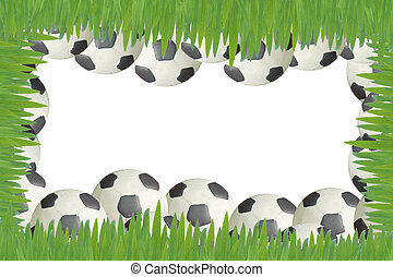Plasticine Football background and texture , object
