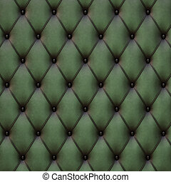 leather - vintage green leather texture.