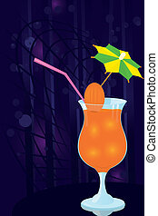 Cocktail- decorated-with-umbrella-t