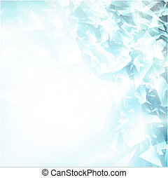 Abstract broken glass background - Abstract broken glass or...