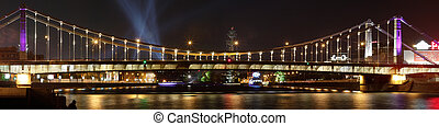 Krimsky Bridge in Moscow