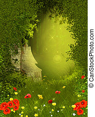 Fairy forest - Background