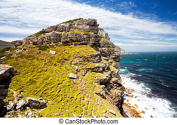 scenery of cape of good hope, south africa