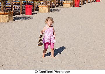 Santa Cruz - Beach near boardwalk in Santa Cruz, California
