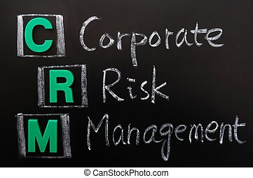 Acronym of CRM - Corporate Risk Management