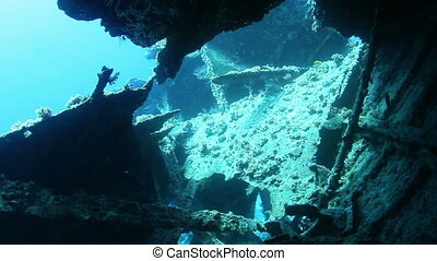 Wreck Dunraven in the Red Sea, Egypt